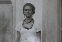 """love Frida-Diego / """"Aimer, c'est doubler son regard."""" Natalie Clifford Barney - Extrait de Eparpillements  / by mélisou marie"""