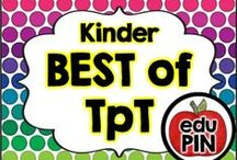 Kindergarten - Best of TpT / Teachers Pay Teachers (TpT) is by far one of the best teacher resource sites I've ever seen. My goal is to bring TpT authors together to showcase their awesome resources! RULES: You can pin up to 3 appropriate pins per day. Use a 1:4 pin ratio (1 paid product for every 3 freebies or ideas). Limit repins to once a month. Also, please do not invite to this board.  / by eduPIN