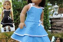 Doll Sewing Patterns-Etsy / by SuzyMStudio