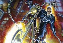Ghost Rider / A slew of things I gathered on Marvel's Ghost Rider / by Valentin Figueroa