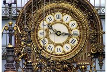 A Time and Place / THESE LANDMARK CLOCK TOWERS AND INTRICATE TIMEPIECES REFLECT THEIR LOCATIONS AND ERA. / by Julie