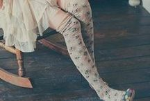 STYLE | knee highs & leg warmers / Pics, patterns, tutorials and more all on knee high socks and leg warmers! #kneehighs #legwarmers #patterns #tutorials / by Shannon Cook  ||  VeryShannon.com