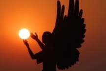 A N G E L S / Angels are messengers from God. They are pure beings of Divine light who are entirely trustworthy and who want to help you with every area of your life. www.DivineGoddessCoaching.com / by Divine Goddess Coaching