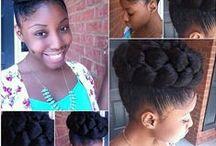 NATURAL HAIR STUFF / by Debrina D Mitchell