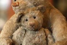 Well Loved Toys II / by Virginia Primitives