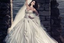 WEDDING DRESSES HERE AND THERE / I LOVE wedding dresses and have discovered traditional American dresses aren't the only ones I like!  Here's something for EVERYONE from all over, from traditional, whimsical to gothic to fantasy, and everything in between!!! / by Marian Alsobrooks