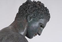 """Apoxyomène de Croatie / 21 novembre 2012 - 25 février 2013 au Louvre. L'Apoxyomène croate, athlète antique, est l'un des derniers grands bronzes grecs parvenus jusqu'à nos jours. http://www.louvre.fr/expositions/l-apoxyomene-de-croatie-un-athlete-en-bronze Registered on the UNESCO Underwater Cultural Heritage list, the """"Croatian Apoxyomenos"""" will be presented at the Louvre as part of """"Croatie, la voici"""", the Festival of Croatia in France. http://www.louvre.fr/en/expositions/croatian-apoxyomenos—-bronze-athlete  / by Musée du Louvre"""