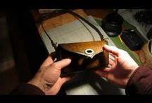 videos-about leather / by Leather Art--Ambachtelijk Lederkunstenaar.. Carine Bacelle