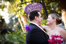 """Weddings / Savannah couples are pleased to find the """"really smart wedding ideas"""" and have praised our romantic inn as """"a great place to elope."""" We agree that our inexpensive weddings and elopement packages offer a delightfully practical beginning for a happy, romantic life together. The inn's romantically simple weddings offer an intimate venue that is ideally decorated with natural gardens. Azalea Inn and Gardens provides a great place for a small Georgia wedding or elopement. / by Azalea Inn and Gardens"""