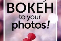 PHOTOGRAPHY: Bokeh / The term bokeh (from the Japanese word boke meaning blur or haze) describes the aesthetic quality and character of the blur in out of focus areas of an image.  The quality and appearance of the bokeh may be affected by the shape of the lens aperture, and also by how well the lens is corrected for spherical aberration.  / by Jan Edwards