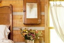 """at home""...em casa / #decor#vintage#farmhouse#house""bedroom#bathroom#room / by usina ZEN"