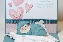 CARDS FOR BABIES / CARTÕES DE BEBÊS / by Belzinha Gomes