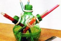 ART AND CRAFT BOTTLE WITH PET - ( ARTESANATO COM GARRAFA PET) / ARTE E ARTESANATO COM GARRAFA PET / by Belzinha Gomes