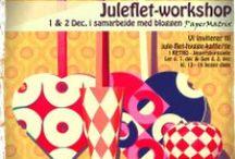 PAPER ART- FLETTEDE JULEHJERTE / ARTE, ARTESANATO COM PAPEL  / by Belzinha Gomes