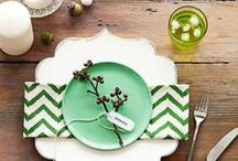 Fine table settings / Gorgeous tablescapes with imaginative details / by SnapDish Food Camera