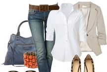 Casual / Ideas for casual and going out outfits.  Need to expand past jeans and t-shirts. / by Denise Yun