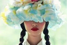 Fashion ~ Hats and Headgear / Hats, headgear, head wear or headdress; any element of clothing which is worn on one's head Board Etiquette ~ Please do not repin anymore than six pins from this board in a 24 hour period. Thank you :)  / by Purely Inspiration