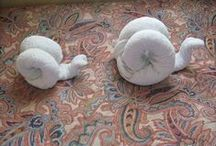 Creative Towel Folding / by Lisa J