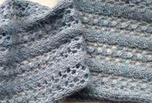 Knit Scarves and Cowls / by Rosanne Bushnell