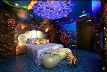 disney themed rooms and more / by Chantae Williams