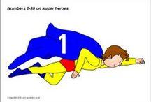 thema superhelden / by veerle bernaert