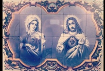 Sagrado Coração de Jesus / imagens sacras / by Thais Vieira