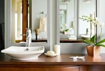 All about BATHROOMS / All that is interesting and helpful in decorating or redoing an existing bathroom.... The easier and least expensive the better, just great ideas / by Edith Jasser Realtor-Chicago