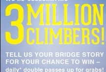 3 Million Climbers Celebration / On 22 April 2013, BridgeClimb welcomed its 3 millionth climber, Caitlin from New Zealand. To celebrate, we asked our Facebook community to share with us their Bridge stories. Here are some of those stories. / by BridgeClimb