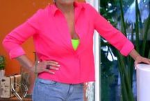figurino PINK / Looks com roupas cor pink que apareceram na TV (e que postamos no blog Moda de Novela) / by blog Moda de Novela