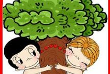 Tree huggers; save the trees and forests! / by Debra Vaughn Augustine