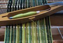 weaving dyeing spinning / by Ingrid Schack