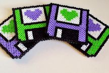 Fridge Magnet Project/Perler Beads / by Jenny G