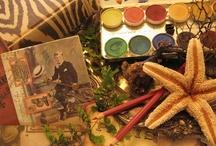 Artist Sketchbooks  / Artist Studios, Sketchbooks and Textile Sewing Diaries... / by Tricie Krim