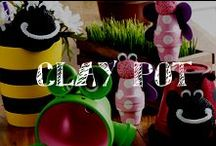 Moore: Clay Pots / They're not just for planting anymore – see all you can do with clay pots!! / by A.C. Moore Arts & Crafts