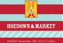 "Hoedown and Holiday Market / High Hopes welcomes back the second annual Hoedown and Holiday Market! Come join us and 60 of the best local craft and food vendors on November 18th from 12:00-4:00PM as we host another ""don't miss"" Connecticut event. Check back for featured vendors and raffle prizes! / by High Hopes Therapeutic Riding"
