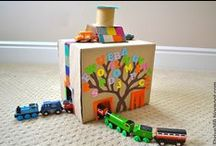 4 Manualidades Infantiles con elementos reciclados / by Enma Carmen