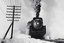 Train / Mostly B&W photos of US railways by the classic photographers (40s-70s). / by Andrew Trute