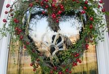 Wreaths & Door Decor / by Pamela Mead