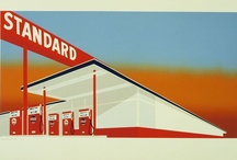 Here In My Car / Cars, car parking, gat stations and adverts. / by Andrew Trute
