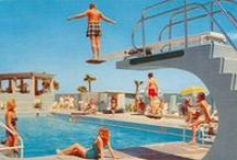 Pool / Art, MCM (and even abandoned)...pools are fascinating, a focal point for summer fun. / by Andrew Trute