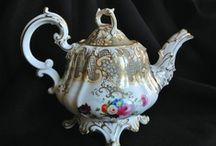 ANTIQUE TEAPOTS / ANTIQUE TEAPOTS / by Dee SHORT