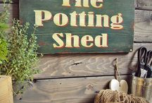 Potting  sheds & garden rooms / by Maggie Taylor