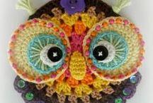 crochet OWLS / by Sammy Field