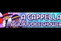 a cappella  / These vids are human voice only, no one-person multitracks, and may be enhanced with technology. A lot of song & artist covers are here, too. / by Joanne Grimes