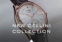 New Rolex Cellini Collection / Rolex is pleased to reveal the new Rolex Cellini collection at Baselword 2014. A contemporary celebration of classicism and the eternal elegance of traditional timepieces.   / by ROLEX