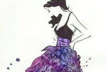 Art: Fashion Sketches / by Kiki H.