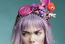 Millinery Inspiration / Hats and headpieces that are neat. / by Nikki Crowder