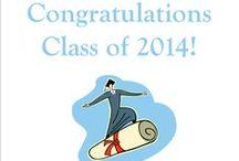 Graduation - 2014 / by McQuade Library