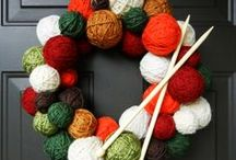 Not Your Mother's Wreath / Momma's front door never looked like this. / by Lori Robertson
