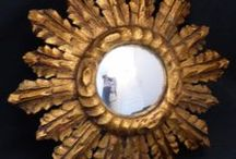 Gilded wood Mirrors / With Proantic, you can choose and by a large selection of antique gilded wood mirror from the 17th, 18th and19th century.  / by Proantic